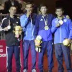 Klasemen akhir perolehan medali Tinju Asian Games 2018